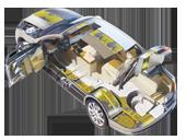Matériaux contre bruit pour les automobiles
